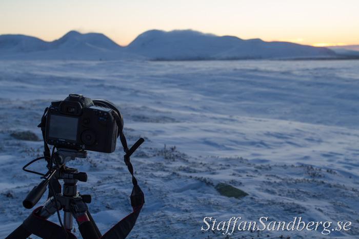 Vinterfotografering med stativ