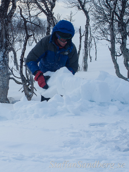 Bygga snömur