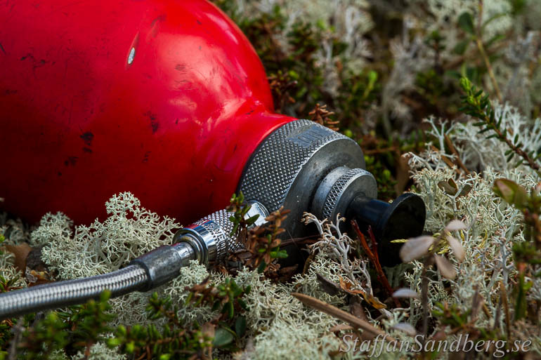 Pump på multibränsleköket Optimus Nova