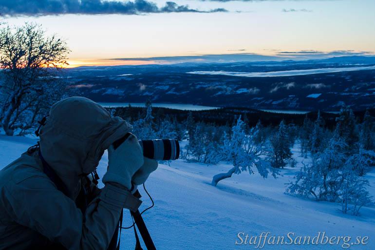 Fotografering med ullvantar