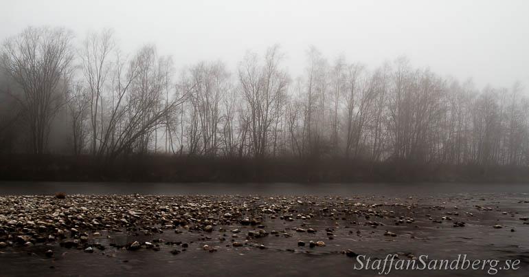 Älv i dimma