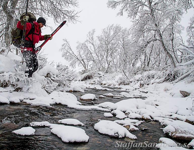 Bära skidor