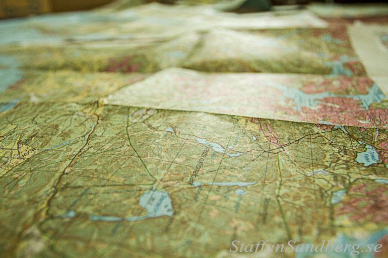 Kartor över Sörmlansleden