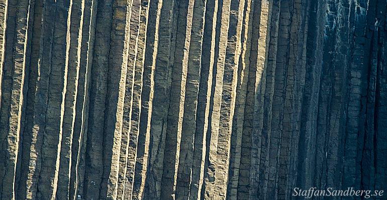 Pelarförklyftad basalt