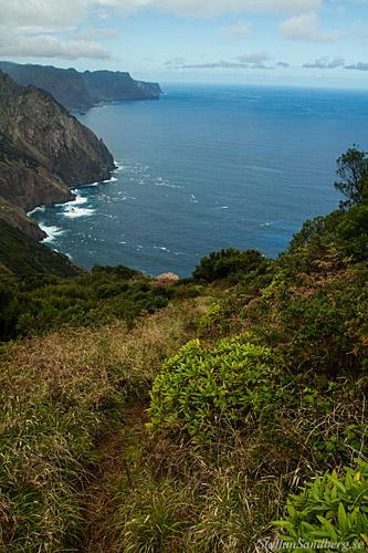 Utsikt över norra kusten